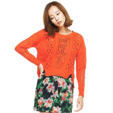 Knit 39900 orange